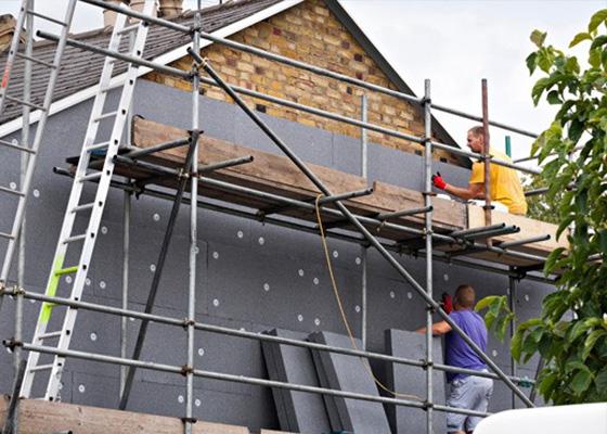 External House Insulation : External wall insulation ewi boards recycling
