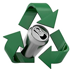 aluminum cans for cash