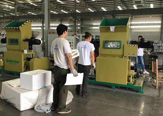 greenmax-styrofoam-recycling-machine-operation
