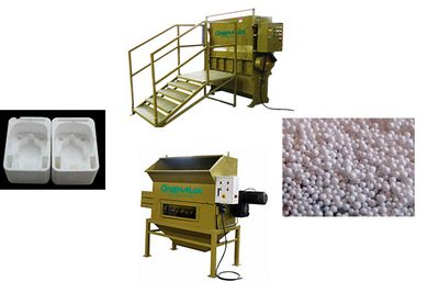 plastic crusher recycling